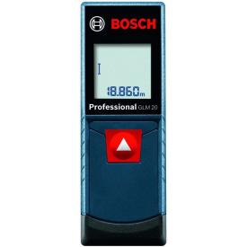 Лазерный дальномер Bosch GLM 20 Professional 0.15-20 м (0601072E00)