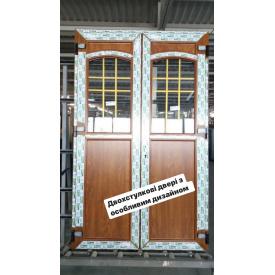 Двери металлопластиковые входные EKIPAZH ULTRA 6 1400x2000 см