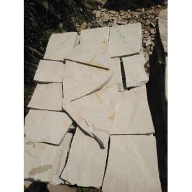 Плитка тротуарная каменная 3 см серая