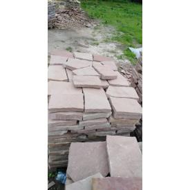 Плитка тротуарна кам`яна 5 см сіро-рожева