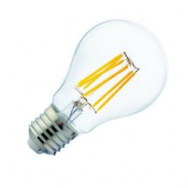 """Лампа Світлодіодна Filament Globe - 6"""" 6W A60 2700К Е27"""