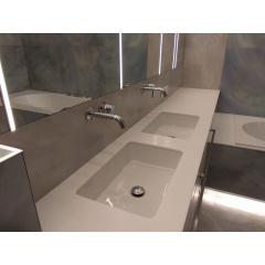 Столешница в ванную комнату из акрилового камня Tristone S 203 Київ