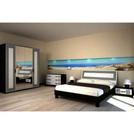 Спальня Мир мебели Бася Нова 4д