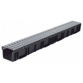 Лоток ЛВ - LIGHT DN95 пластиковый с решеткой стальной, кл.A (комплект)