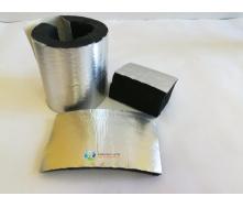 Утеплювач для труб 89 (13) мм Kaiflex зі спіненого каучуку з алюм. покриттям для зовнішнього застосування