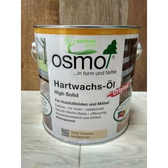 Масловоск для паркету та дерев'яних підлог OSMO Hardwachs Ol 2,5 л