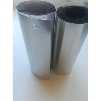 Утеплювач труб 76 (13) мм Kaiflex зі спіненого каучуку з алюм покриттям AL PLAST під нержавійку для зовнішнього застосування