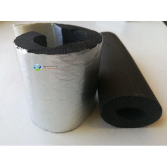 Ізоляція труб 18 (13) мм Kaiflex зі спіненого каучуку з алюм покриттям для зовнішнього застосування