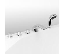 Арко Врізний змішувач на борт ванни на 5 елементів