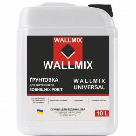 Универсальная грунтовка Wallmix universal 5л/5кг