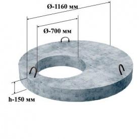 Кришка колодязя ПП 10-2 1180х150 мм