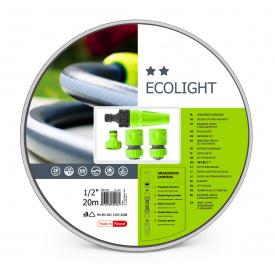 """Поливочный набор CellFast ECOLIGHT шланг 1/2"""" 20 м + комплект соединителей"""