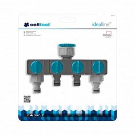 Распределитель 4-х канальный CellFast IDEAL LINE™ CellFast PLUS**