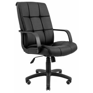 Офісне крісло Арізона Richman 1040-1120х610х500 мм пластик чорне