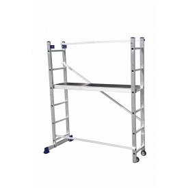Сходи-поміст універсальна багатоцільова Конструктор 2x6 ступенів