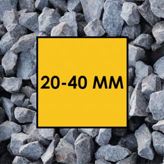 Щебінь гранітний фракція 20-40 мм