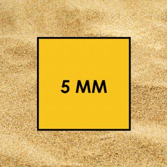 Пісок будівельний 5 мм