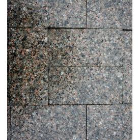 Гранітна бруківка полнопіленная Покостовського граніту 200 (100) х100х40 мм