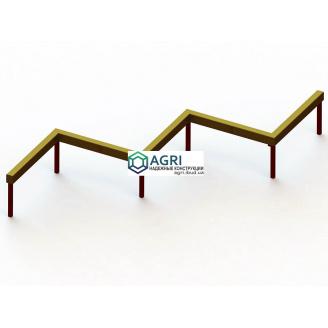 Колода гімнастична Зигзаг А-4600