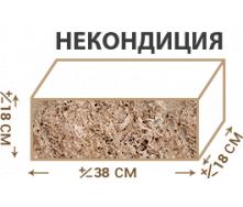 Камінь Ракушняк Некондиція 18х38х18 см