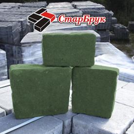 Бруківка Римський камінь 60 мм зелений