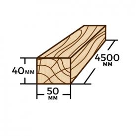 Рейка Wood Delivery сосновая 50х40х4500 мм