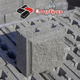 Рваний блок малий 200х200 сірий