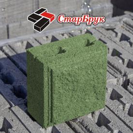 Рваный блок малый 200х200 зеленый