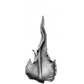 Лист кованый 175х80 мм 2 мм