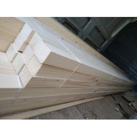 Брусок строганый Деревянный декор 50х40 мм