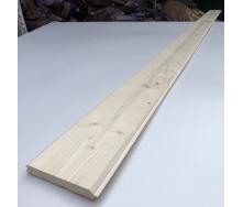 Імітація бруса Дерев`яний декор смерека 3000х140х20 мм