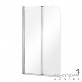 Шторка для ванны Besco Prime-2 91x140 прозрачное стекло