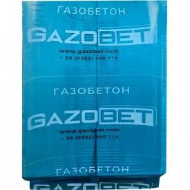 Газоблок для перегородок Gazobet D500 100x240x600 мм