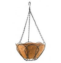 Підвісне кашпо 30 см з кокосовим кошиком PALISAD