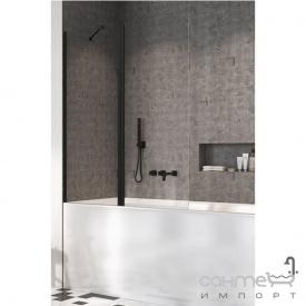 Шторка для ванны Radaway NES Black PND II 100 L 10009100-54-01L левосторонняя, прозрачное стекло