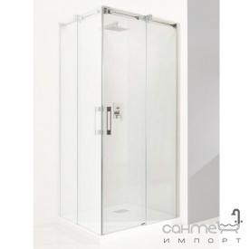 Права частина прямокутної душової кабіни Radaway Espera KDD 100R 380152-01R хром/прозоре скло