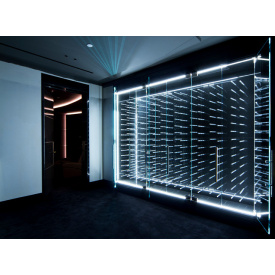 Алюмінієве вікно BMS praktik LED glass