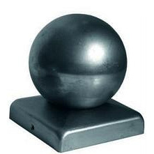 Заглушка 100х100 мм диаметр 80 мм