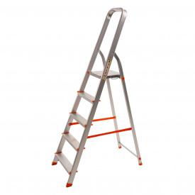 Драбина алюмінієва Laddermaster Vega A1B5 5 сходинок