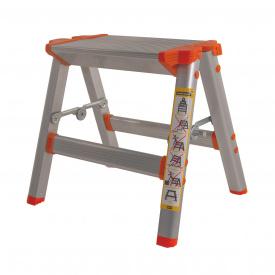 Драбина-табурет алюмінієва Laddermaster Capella A5B2 1 сходинка