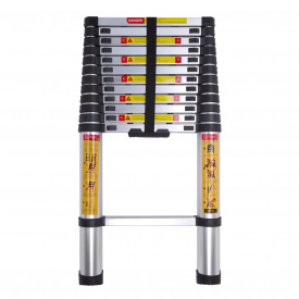 Драбина телескопічна алюмінієва Laddermaster Avior A7A12 12 сходинок