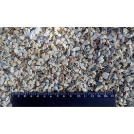 Мармурова крихта декоративна 2,5-5 мм кремово-сіра Мармуровий кар`єр Трибушани