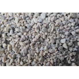 Мармурова крихта декоративна кубовидна 3-5 мм кремово-сіра Мармуровий кар`єр Трибушани
