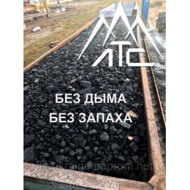 Уголь каменный марка Д казахстанский 25-50 мм навалом вагонные нормы