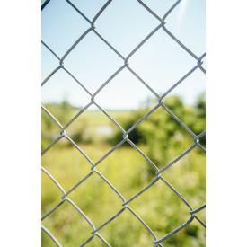 Сетка рабица оцинкованная Сетка Запад 60х60 мм/3 мм/ 1,5/10 м