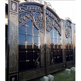 Ворота кованые с замком Legran