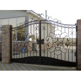 Ворота ковані розпашні Legran