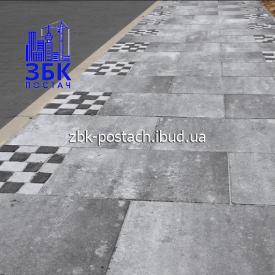 Тротуарная плитка Монолит 600х400 мм