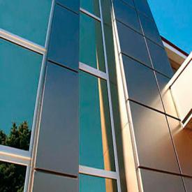 Монтаж комбинированного навесного вентилируемого фасада с утеплением