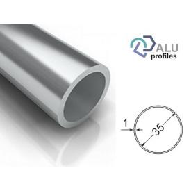 Труба кругла алюмінієва 6063Т5 35х1х5000 мм